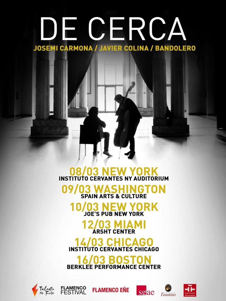 'De Cerca' - Gira USA - Josemi Carmona y Javier Colina