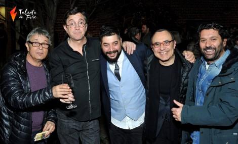 Chano Domínguez, Javier Colina, Bandolero, Michel Camilo y Josemi Carmona en Joe's Pub - Nueva York