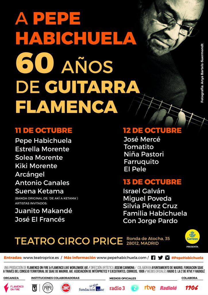 A Pepe Habichuela: 60 Años de Guitarra Flamenca