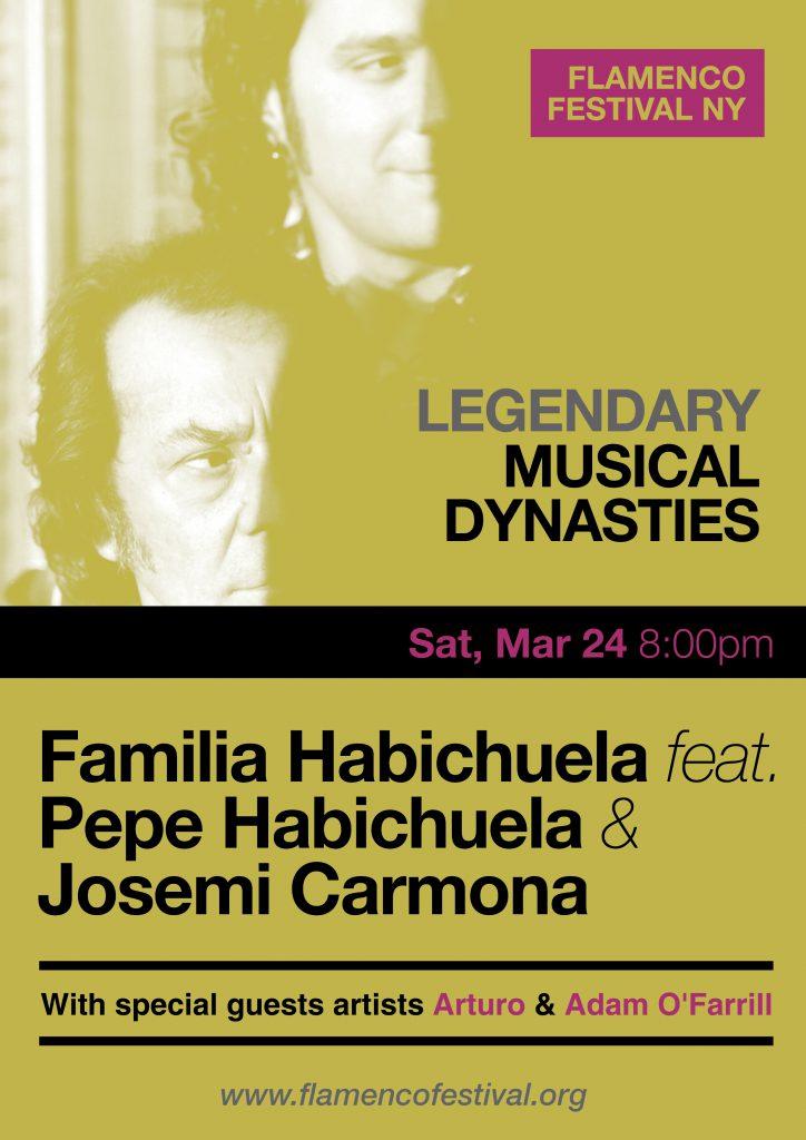 Familia Habichuela Josemi Carmona Pepe Habichuela Flamenco Festival