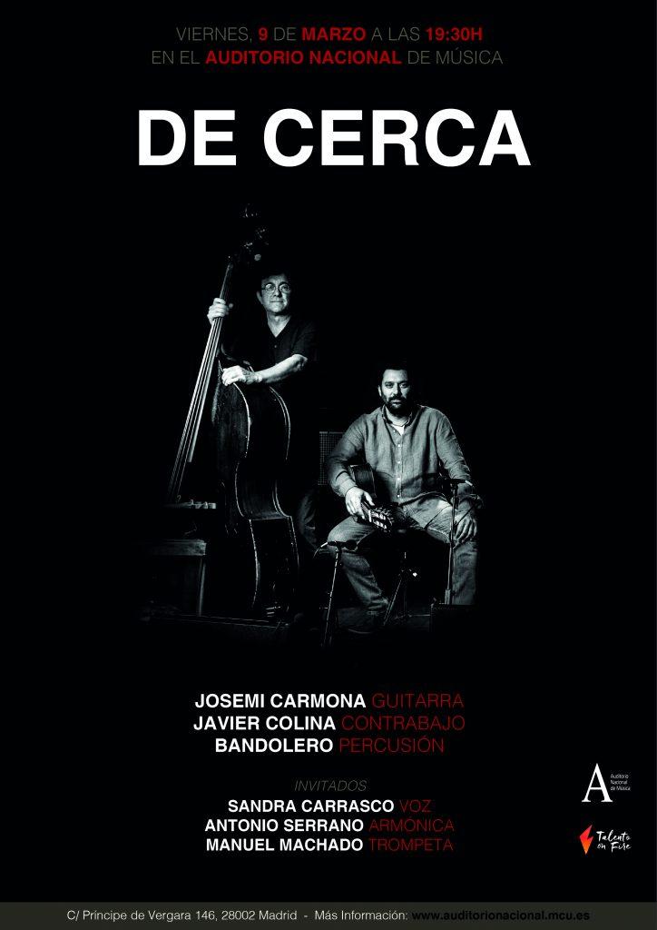 De Cerca Auditorio Nacional Carmona Colina