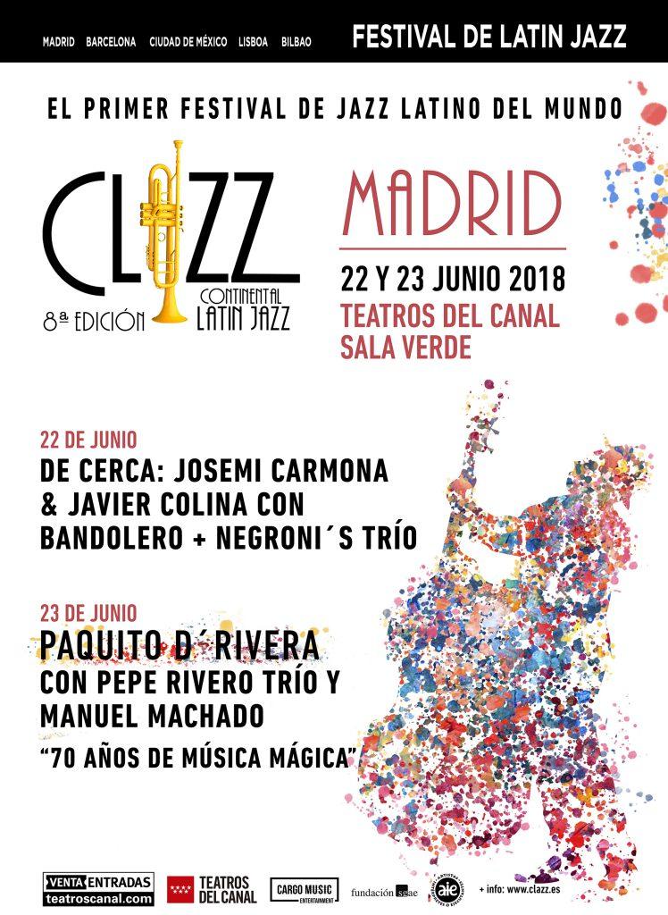 Clazz Madrid Josemi Carmona y Javier Colina
