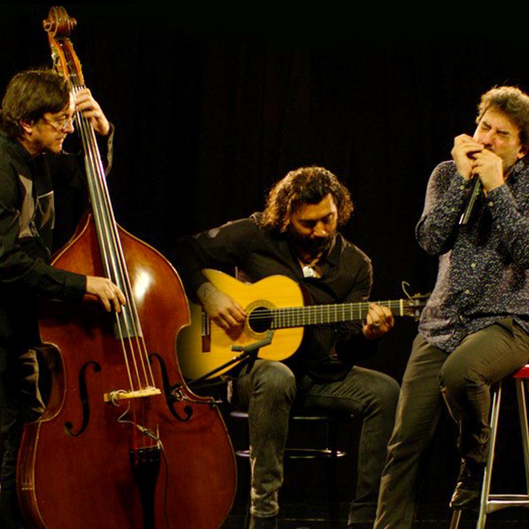 Antonio Serrano, Josemi Carmona y Javier Colina trío