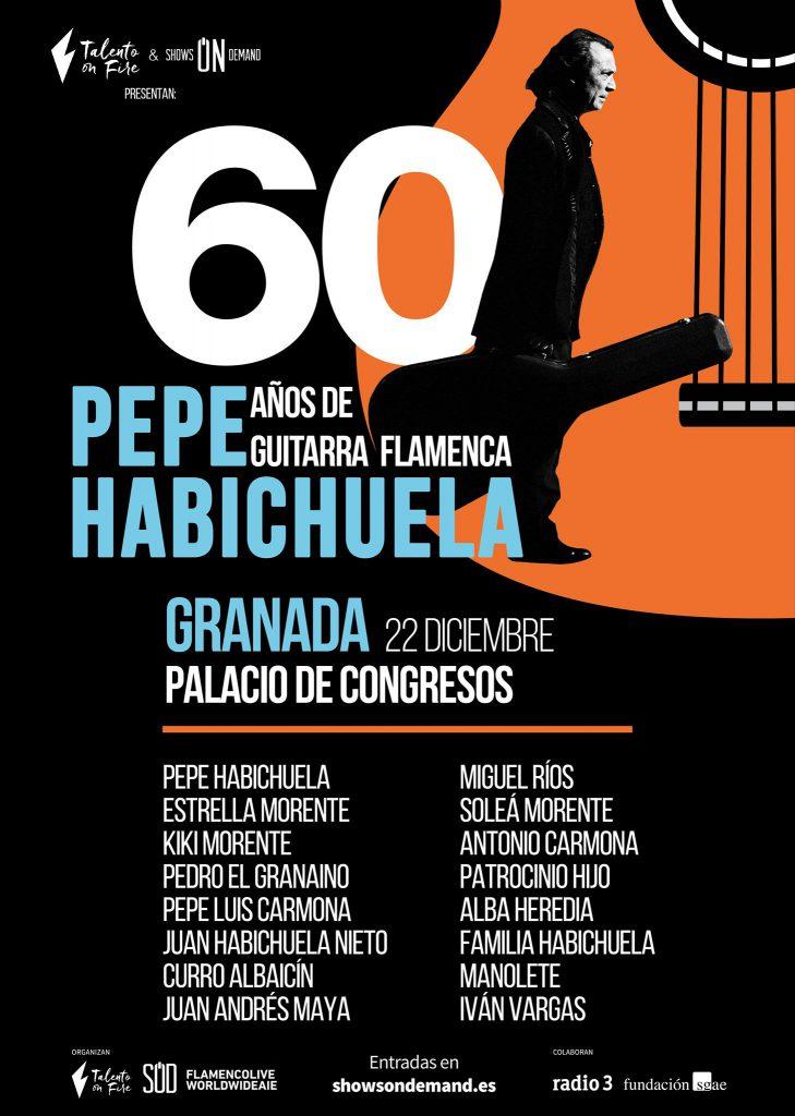 60 Años - Pepe Habichuela